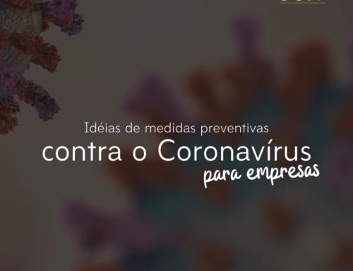 Dicas de Medidas Preventivas do Coronavírus Para Empresas